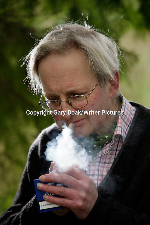 Allan Massie, Scottish journalist, columnist, sports writer and novelist<br /> <br /> Photograph by Gary Doak/Writer Pictures<br /> <br /> WORLD RIGHTS