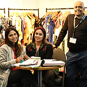 London, UK. 16th February, 2020. Sheen - timeless London exhibition at the LondonEdge 2020 | Authentic Lifestyle Fashion Trade Shows and exhibition and Fashion show at Business Design Centre.