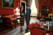 March 6, 2016 - NANCY REAGAN, Ronald Reagan's widow and First Lady from 1981-1989, has died at 94. The cause of death was congestive heart failure. Pictured: 1981-84, exact date unknown. RONALD WILSON REAGAN embraces his wife NANCY DAVIS REAGAN in the Red Room of the White House. <br /> ©Michael Evans/Exclusivepix Media