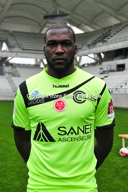 Johnny Palcide - 21.10.2014 - Photo officielle Reims - Ligue 1 2014/2015<br /> Photo : Philippe Le Brech / Icon Sport
