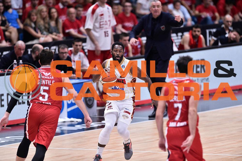 Milano 27.05.2016<br /> Basket Serie A - Playoff Semifinali Gara 5<br /> EA7 Emporio Armani Milano - Reyer Venezia<br /> <br /> Nella foto: Jeremy Pargo