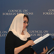 Benazir Bhutto.Former Prime Minister, Islamic Republic of Pakistan.Chairperson, Pakistan People's Party (PPP)