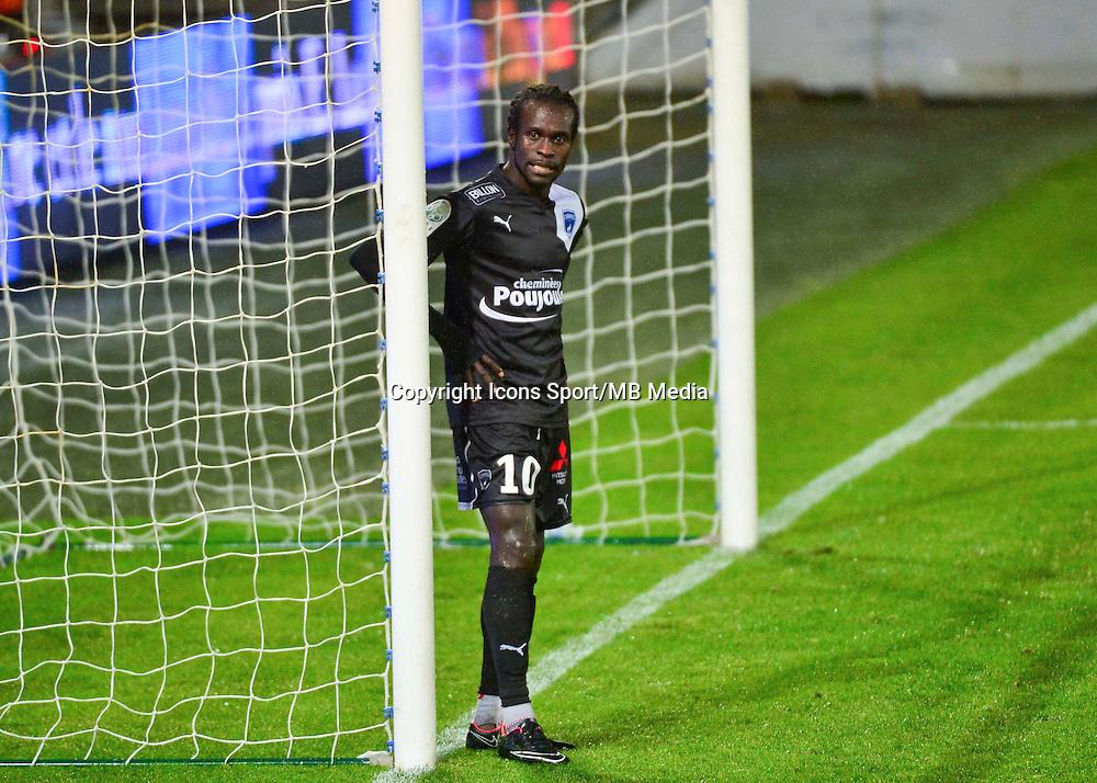 Mouhamadou DIAW   - 19.12.2014 - Auxerre / Niort - 18e journee Ligue 2<br /> Photo : Dave Winter / Icon Sport