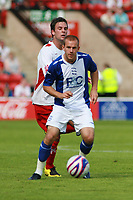 Photo: Mark Stephenson.<br /> Walsall v Birmingham City. Pre Season Friendly. 28/07/2007.Birmingham's Rowan Vine on the ball