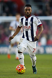 Stephane Sessegnon of West Bromwich Albion in action - Mandatory by-line: Jason Brown/JMP - 07966386802 - 16/01/2016 - FOOTBALL - Southampton, St Mary's Stadium - Southampton v West Bromwich Albion - Barclays Premier League