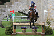 Eloise Carter riding Chocolate Domino during the International Horse Trials at Chatsworth, Bakewell, United Kingdom on 12 May 2018. Picture by George Franks.