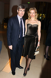 MR TIM & LADY HELEN TAYLOR at a Burns Night supper in aid of Clic Sargent & Children's Hospital Association Scotland hosted by Ewan McGregor, Sharleen Spieri and Lady Helen Taylor at St.Martin's Lane Hotel, 45 St Martin's Lane, London on 25th January 2006.<br />
