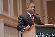 Appalachian Scholars Open House Program in New Baker..Dr. McDavis