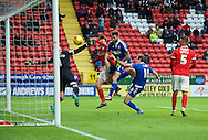 Daryl Murphy (9) of Ipswich Town scores the opening goal during the Sky Bet Championship match at The Valley, London<br /> Picture by Alan Stanford/Focus Images Ltd +44 7915 056117<br /> 28/11/2015