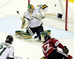 Action from Game 6 of the MasterCard Memorial Cup between the Guelph Storm and London Knights on Wednesday May 21, 2014. Photo by Aaron Bell/CHL Images