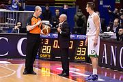 DESCRIZIONE : Milano Coppa Italia Final Eight 2014 Quarti di Finale Montepaschi Siena Acea Roma<br /> GIOCATORE : Luca Dalmonte Guerrino Cerebuch Arbitro<br /> CATEGORIA : Arbitro Delusione<br /> SQUADRA : Acea Roma Arbitro<br /> EVENTO : Beko Coppa Italia Final Eight 2014<br /> GARA : Montepaschi Siena Acea Roma<br /> DATA : 07/02/2014<br /> SPORT : Pallacanestro<br /> AUTORE : Agenzia Ciamillo-Castoria/R.Morgano<br /> Galleria : Lega Basket Final Eight Coppa Italia 2014<br /> Fotonotizia : Milano Coppa Italia Final Eight 2014 Quarti di Finale Montepaschi Siena Acea Roma<br /> Predefinita :