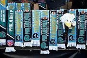 Team memorabilia during the International Series match between Jacksonville Jaguars and Philadelphia Eagles at Wembley Stadium, London, England on 28 October 2018.