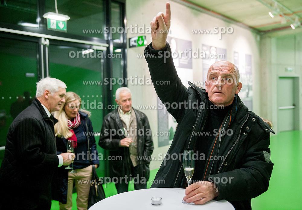 Branko Oblak during the 2013 Slovenia Hall of Fame induction ceremony, on November 28, 2013 in Arena Stozice, Ljubljana, Slovenia. Photo by Vid Ponikvar / Sportida