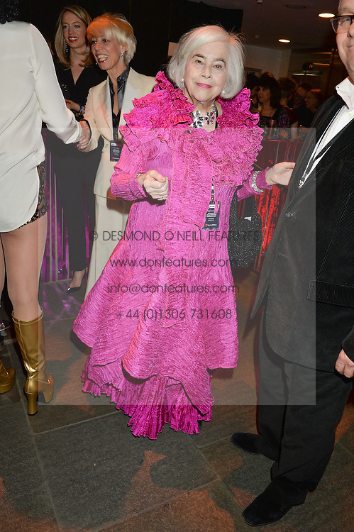 ELENA BONHAM-CARTER at a Night of Disco in aid of Save The Children held at The Roundhouse, Chalk Farm Road, London on 5th March 2015.