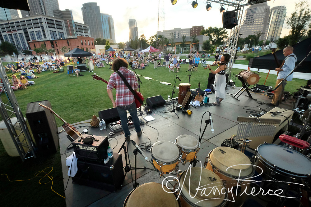 First Ward Park , Friday night concert series
