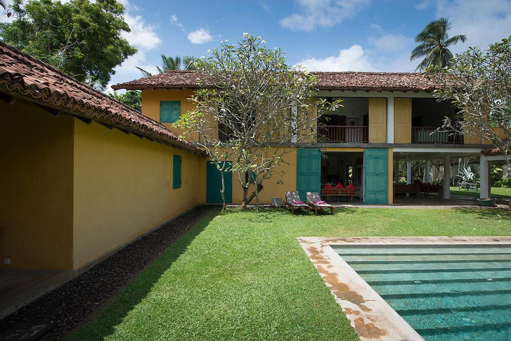 The Jacobson House<br /> Seenimodera, Tangalla, Sri Lanka 1997<br /> Geoffrey Bawa