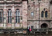 Heidelberg, the castle overlooking the city.