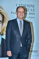 Remise du Prix Lumiere a Catherine Deneuve, 1ere femme a recevoir ce prix.<br /> Pierre Lescure<br /> <br /> Catherine Deneuve Receives 'Prix Lumiere 2016' Award - 8th Film Festival Lumiere In Lyon