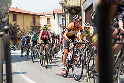 Doris Schweizer (Cylance Pro Cycling) at the final stage of the Giro Rosa 2016 on 10th July 2016. A 104km road race starting and finishing in Verbania, Italy.