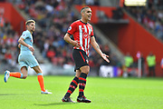 Oriol Romeu (14) of Southampton during the Premier League match between Southampton and Chelsea at the St Mary's Stadium, Southampton, England on 7 October 2018.
