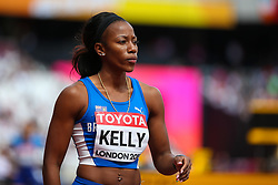 London, 2017 August 06. Ashley Kelly, British Virgin Islands,  in the Heat one of the Women's 400m on day three of the IAAF London 2017 world Championships at the London Stadium. © Paul Davey.