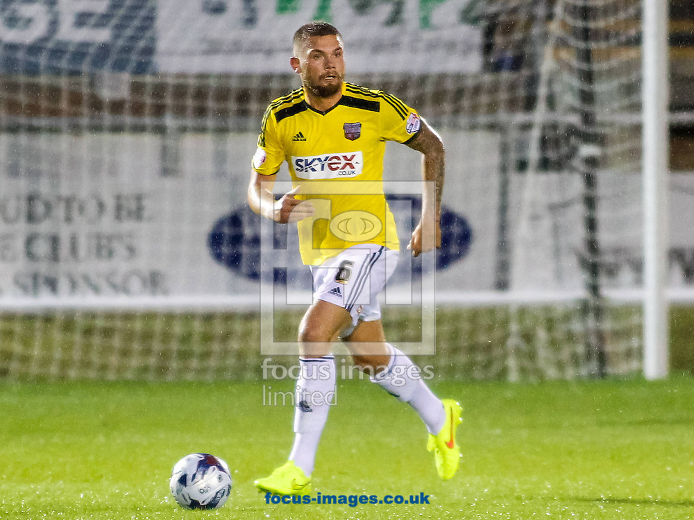 Harlee Dean of Brentford during the Capital One Cup match at the London Borough of Barking and Dagenham Stadium, London<br /> Picture by Mark D Fuller/Focus Images Ltd +44 7774 216216<br /> 12/08/2014