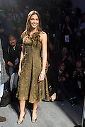 Miss Universe Dayana Mendoza at The Fall 2009 Akiko Ogawa show held at The Salon on February 15, 2009 for the Fall 2009 Fashion Week at Bryant Park in New York City, NY