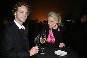 Magnin Edensvard and Vita Zaman, Turner Prize: A Retrospective. Opening party. Tate Millbank. London. 2 October 2007. -DO NOT ARCHIVE-© Copyright Photograph by Dafydd Jones. 248 Clapham Rd. London SW9 0PZ. Tel 0207 820 0771. www.dafjones.com.
