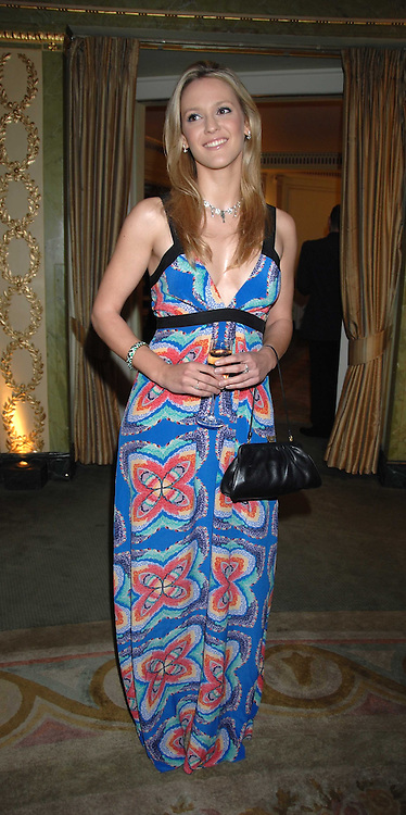 Actress CLEMENCY BURTON-HILL attending the 27th Awards of the London Film Critics' Circle 2007 in aid of the NSPCC held at The Dorchester, Park Lane, London on 8th February 2007.<br />