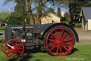 1938 Case C Tractor restored by Andy Gortsema near Kendrick Idaho
