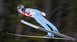 19.12.2014, Nordische Arena, Ramsau, AUT, FIS Nordische Kombination Weltcup, Skisprung, PCR, im Bild Bernhard Flaschberger (AUT) // during Ski Jumping of FIS Nordic Combined World Cup, at the Nordic Arena in Ramsau, Austria on 2014/12/19. EXPA Pictures © 2014, EXPA/ JFK