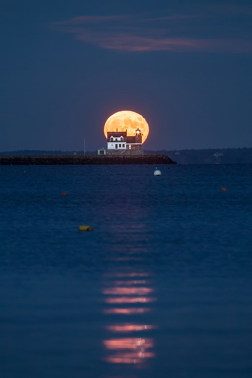 Probably the most beautiful moonrise I've witnessed so far.