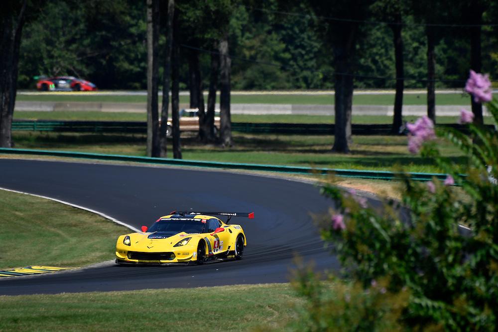 26-28 August, 2016, Alton, Virginia USA<br /> 4, Chevrolet, Corvette C7, GTLM, Oliver Gavin, Tommy Milner<br /> &copy;2016, Scott R LePage <br /> LAT Photo USA
