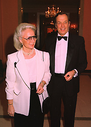 BARON & BARONESS VON NIDDA at a reception in London on 16th March 1998.<br /> MGB 56