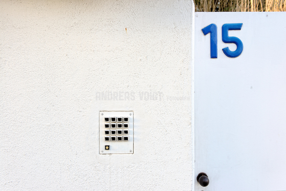Weissenhofsiedlung Klingel Nr. 15
