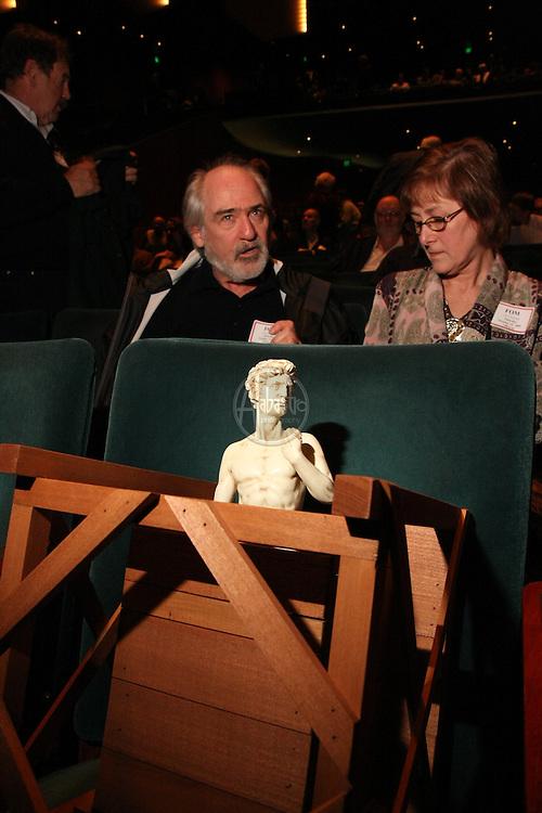 Michaelangelo's David attends Seattle Opera's La Traviata