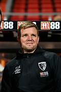 AFC Bournemouth Manager Eddie Howe during the The FA Cup match between Bournemouth and Luton Town at the Vitality Stadium, Bournemouth, England on 4 January 2020.