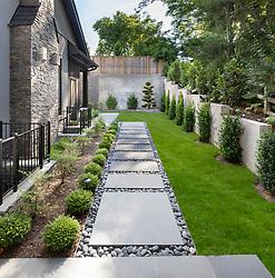 Glenbrook_Rossen_Modern Residential Landscape Modern residential sideyard