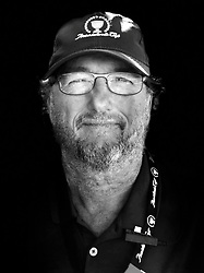 iPhone Portraits of the 2017 Presidents Cup, television camera operator, Jersey City, New Jersey