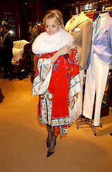DAPHNE GUINNESS at a party at Ralph Lauren, Bond Street, London in support of the NSPCC's Full Stop campaign on 21st March 2006.<br /><br />NON EXCLUSIVE - WORLD RIGHTS