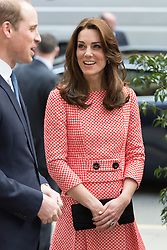 © Licensed to London News Pictures. 11/03/2016. London, UK. Catherine, Duchess of Cambridge and Prince William, Duke of Cambridge visit urban youth charity, XLP at All Hallows On the Wall in London. Photo credit : Vickie Flores/LNP