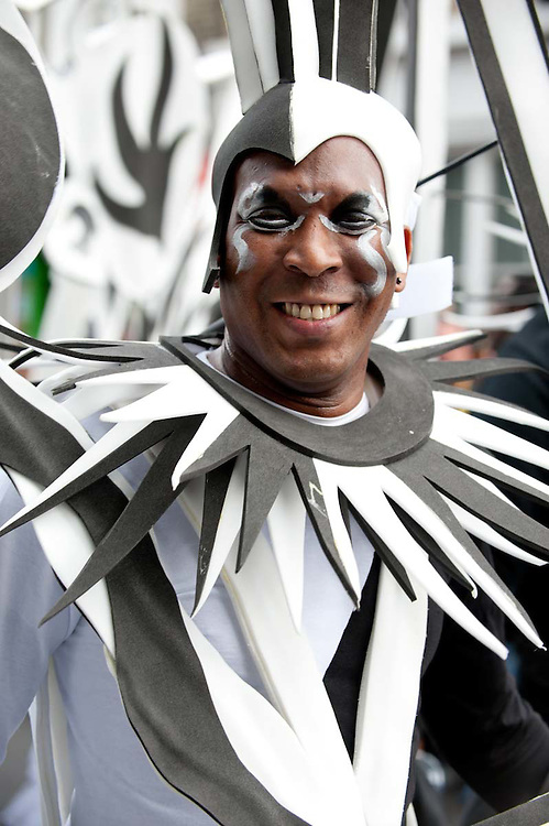 The humanity of masks at Notting Hill Carnival 2011