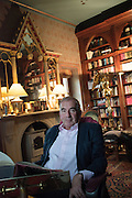 ROBERT HARRIS, at his home in Berkshire, 24 October 2016
