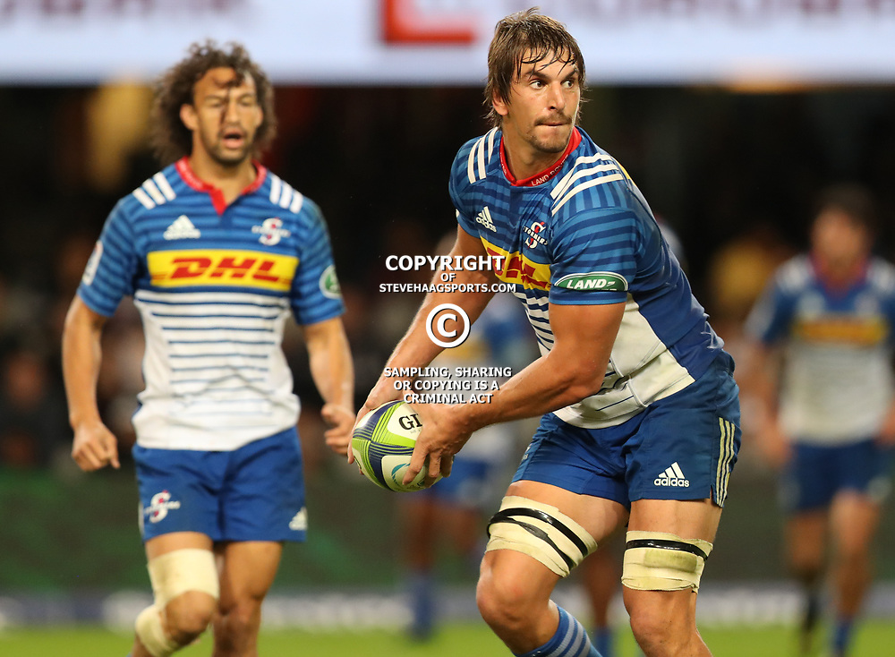 DURBAN, SOUTH AFRICA - MAY 27: Eben Etzebeth (vice-captain) of the DHL Stormers during the Super Rugby match between Cell C Sharks and DHL Stormers at Growthpoint Kings Park on May 27, 2017 in Durban, South Africa. (Photo by Steve Haag/Gallo Images)
