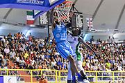 Terran Petteway<br /> Banco di Sardegna Dinamo Sassari - CSP Limoges<br /> 8° International Tournament City of Cagliari Finale<br /> Cagliari, 16/09/2018<br /> Foto L.Canu / Ciamillo-Castoria