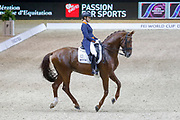 Madeleine Witte-Vrees on Cennin during the Equestrian FEI World Cup Dressage Lyon 2017 on November 2, 2017 at Eurexpo Lyon in Chassieu, near Lyon, France - Photo Romain Biard / Isports / ProSportsImages / DPPI