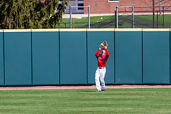 NORMAL, IL - April 08: Gunner Peterson during a college baseball game between the ISU Redbirds  and the Missouri State Bears on April 08 2019 at Duffy Bass Field in Normal, IL. (Photo by Alan Look)