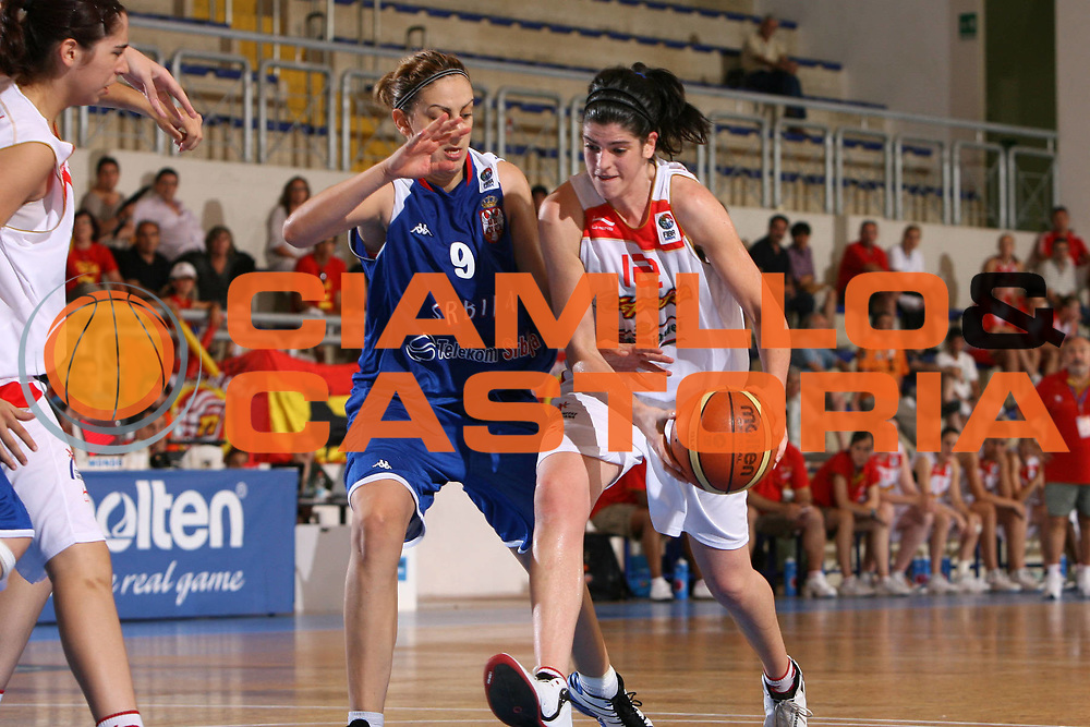 DESCRIZIONE : Pescara U20 European Championship Women Final 3-4 Place Serbia Spain<br /> GIOCATORE : Jael Freixanet<br /> SQUADRA : Spain Spagna<br /> EVENTO : Pescara U20 European Championship Women Final 3-4 Place Serbia Spain Campionato Europeo Femminile Under 20 Finale 3-4 Posto Serbia Spaigna<br /> GARA : Serbia Spain Serbia Spagna<br /> DATA : 20/07/2008 <br /> CATEGORIA : palleggio<br /> SPORT : Pallacanestro <br /> AUTORE : Agenzia Ciamillo-Castoria/E.Castoria<br /> Galleria : Europeo Under 20 Femminile <br /> Fotonotizia : Pescara U20 European Championship Women Final 3-4 Place Serbia Spain<br /> Predefinita :