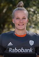 UTRECHT -  keeper  ANNE VEENENDAAL  , trainingsgroep Nederlands team hockey.   COPYRIGHT  KOEN SUYK