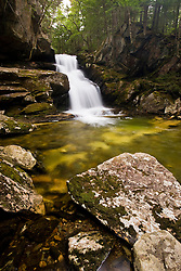 Cold Brook Falls in New Hampshire's White Mountains.